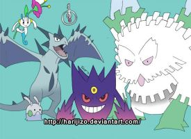 Goomy, Floette, klefki, and mega pokemon