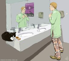Welcome to Night Vale - Best Tunic and Furry Pants by ZoSoTheTwirp