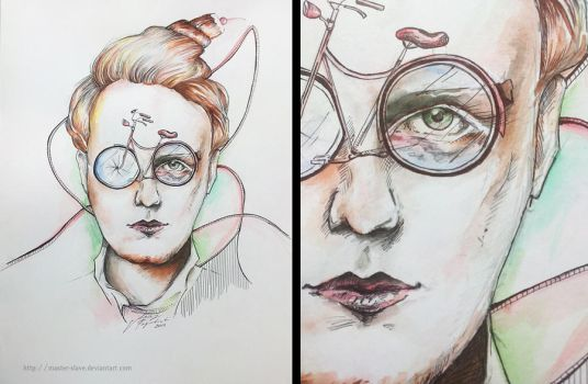 Alex Trimble (Two Door Cinema Club) by Master-Slave