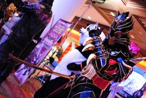 TGS 2011 Cosplay - Karas by Constrictorz