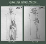 Meme Before And After...Testing by GuardianOfNightmares