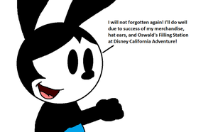 Oswald will not forgotten again by SuperMarcosLucky96