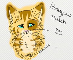 Honeypaw Sketch by Wazilikie