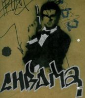 bond stencil with handstyle by cHrOmA11820