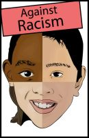 Against Racism by HolyMushroom