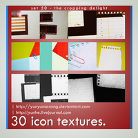 30 icon textures - cropping by yunyunsarang
