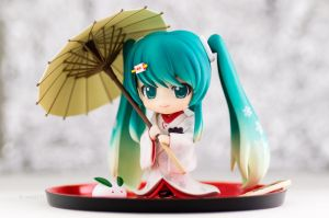 Snow Miku: Strawberry White Kimono Ver.(2) by wata1219