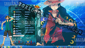 TEMA WINDOWS 7 LUFFY by ToxicoSM