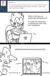 Ask Vegeta 21 by Camron23