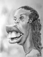 Ronaldinho Caricature - Speed Drawing Italia by Speeddrawingitalia