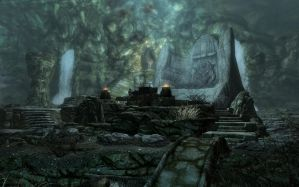 Bleak Falls Barrow by ProfessorPwnage