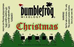 Christmas labels  by BumblefrogMixology