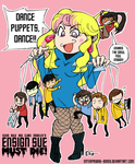 Ensign Sue's Puppets by enterprising-bones