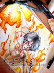 Portgas D Ace - Fire Fist by ClauLittlePortgas