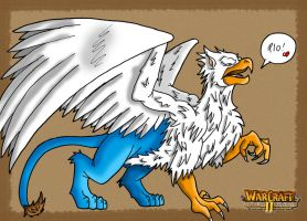 Warcraft 2 Gryphon by Tippy-The-Bunny