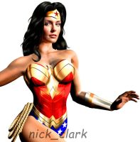 Taylor Cole as Wonder Woman by nickclark89