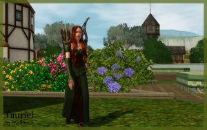 Tauriel (Elf Sims) by ng9