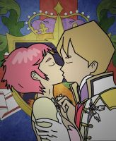 Jeremie x Aelita - Knight in Shining Armor by rev-rizeup