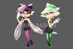 Callie and Marie by suparamen
