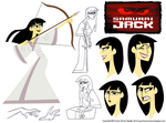 Character Design Assignment Two: Samurai Jack by chillyfranco