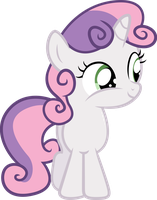Sweetie Belle Vector by PaulySentry
