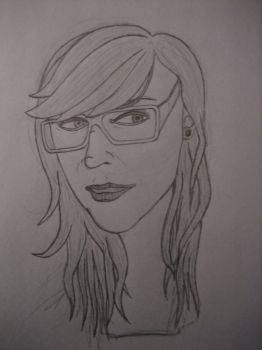 A sketch of one of my friends by cmacdonald06