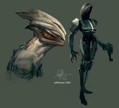 Alien design 2 by jeffsimpsonkh