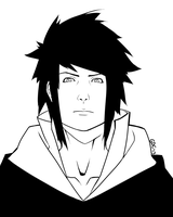 Sasu Taka Lineart by Giando1611990