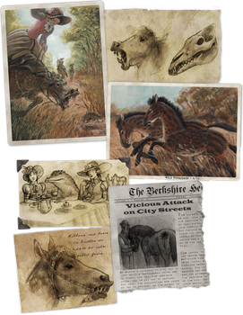 Better Bestiary: Flesh Eating Mares by Camelid