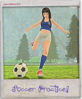 Rikka -Soccer Practice- Second Life by Jace-Lethecus