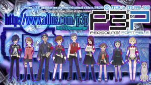 Persona 3 Portable by LukeLlenroc