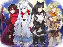 RWBY-Once Upon a Time by BloodyRosalia