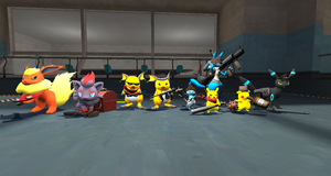 GMod: Trouble in Mystoria Fortress 2 - Cast Shot by Shadowlord90