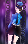 Persona 5 Justine by Curryn-chan