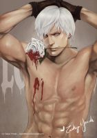 Devil May Cry - Bleeding Rose by AsahiMisora