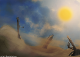 The Desert by marky1212