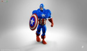 Captain America Classic ZB4 by patokali