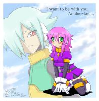 I want to be with you, Aeolus-kun... by Lady2011