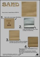 Sand Tutorial by tina1138