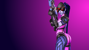 Overwatch (8b - Widowmaker) by AdeptusInfinitus