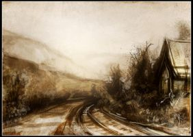 Railroad by Tsabo6