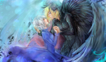 Howl and Sophie by kuroi-onee