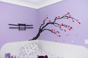 Sakura in my room by Cassaa