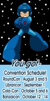 2012 Fall Convention Schedule! by Thormeister