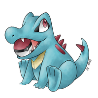 03: Totodile by allocen