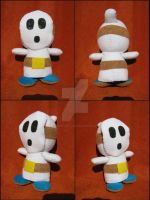 White Shy Guy by A-chan--Creations