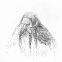 Dwarf Sketch by TurnerMohan