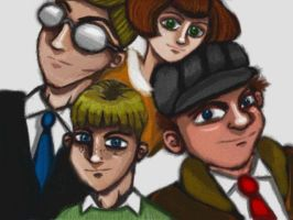 Protagonists by cellytron