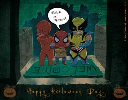 Happy Halloween by elisamoriconi