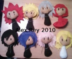 Custom Anime+Manga+Game Dolls by AliceOfTheRose